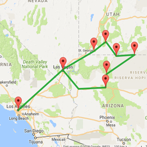 Parchi Usa Cartina.Mini Tour Parchi Americani 6 Giorni Ai Parchi Piu Belli Insiemeintour
