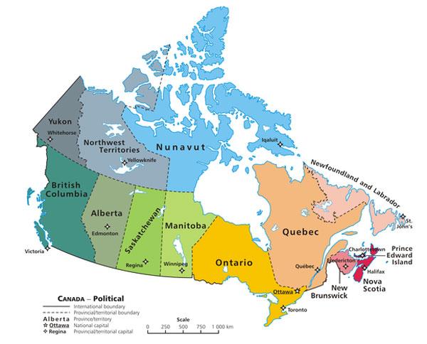 canada tour organizzati