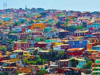 tour del Cile - Valparaiso