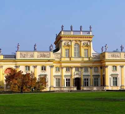 tour Polonia Palazzo Wilanow