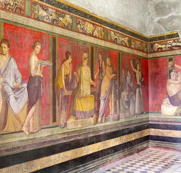 tour Campania - Pompei