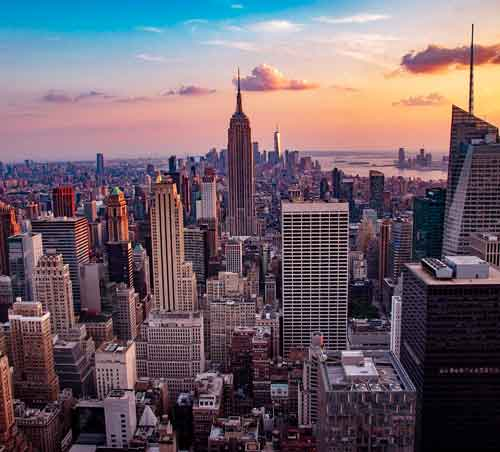tou guidato New York per mano