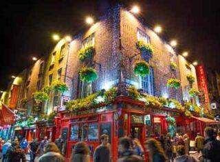 arrivo a Dublino tour Irlanda Ovest