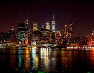 crociera nella baia di New York