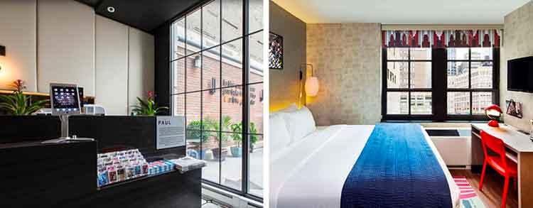 Tour New York e costa est - hotel the Paul