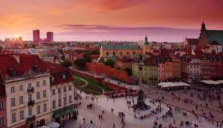 tour cracovia e Varsavia