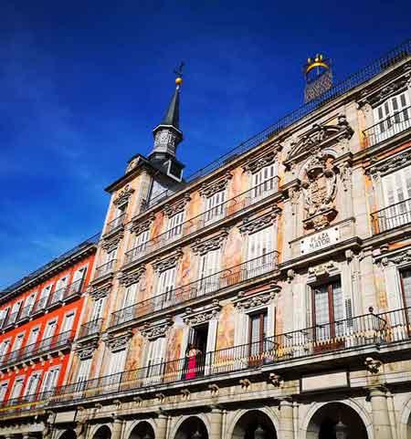Capodanno Madrid e Castiglia