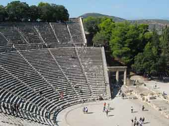 tour della Grecia - Epidauro